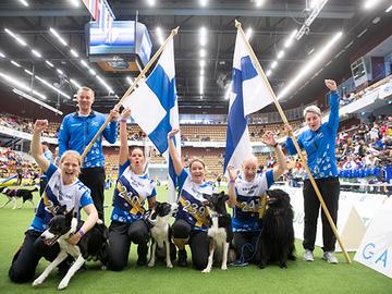 Suomen makseille pronssi agilityn MM-kisoista