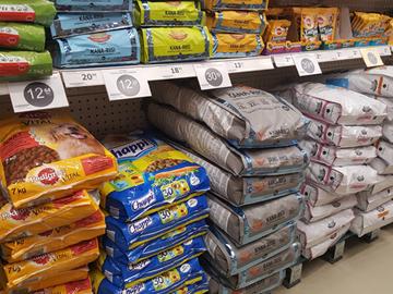 Koiranruokaa ja tarvikkeita merkittävästi halvemmalla