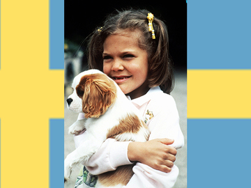 Prinsessan cavapoo-koira nostatti kohun